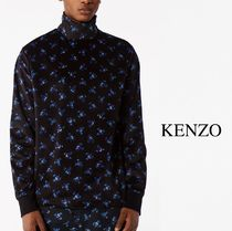 17-18AW KENZO May Flowers' Velour T-shirt