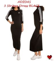 Love it   ADIDAS Women's 3 Stripes Dress BLACK