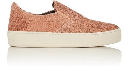 """関税/送料込""Balenciaga Textured Leather Slip-On スニーカー"