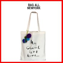Bag all(バッグオール) トートバッグ 送料関税込☆Bag all☆MY CHANEL IS AT HOME トートバック