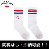 国内発送 即 17AW NOAH WINGED FOOT SOCKS WH/ROYAL 靴下 新作