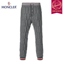 TOPセラー賞受賞!17/18秋冬┃MONCLER★TRACK PANTS_グレー
