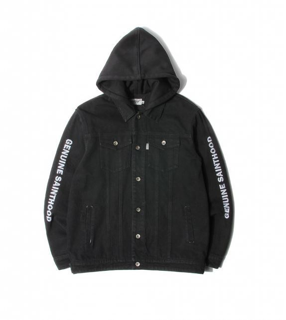 日本未入荷SAINTPAINのSP BECKTON HOODED DENIM JACKET 全2色
