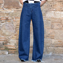 MARQUES ALMEIDA BOY-FRIEND DENIM JEANS INDIGO BLUE