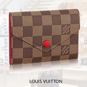 【Louis Vuitton】ポルトフォイユ・ヴィクトリーヌ☆ダミエ