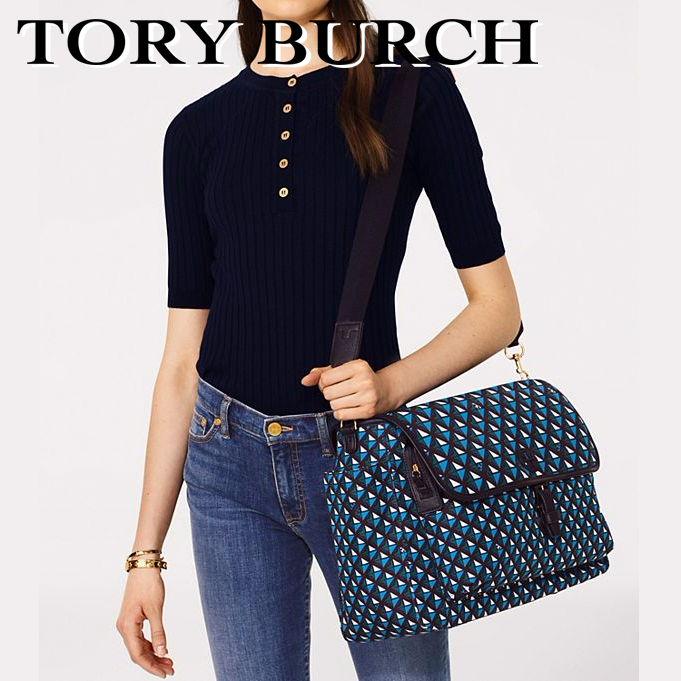 ◇TORY BURCH◇Scout Printed Baby Bag Messenger
