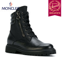 TOPセラー賞受賞!17/18秋冬┃MONCLER★LACE UP BOOTS_ブラック