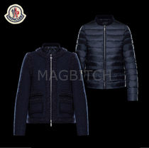 17-18AW MONCLER GAMME ROUGE BIENVILLE WOOLXダウンWジャケット