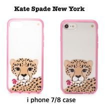 kate spade☆クリアJeweled チーター iPhone 7 / 8 Case