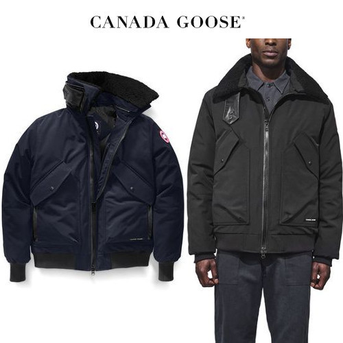 CANADA GOOSE Bromley Bomber 大人の品が漂う Admiral Blue
