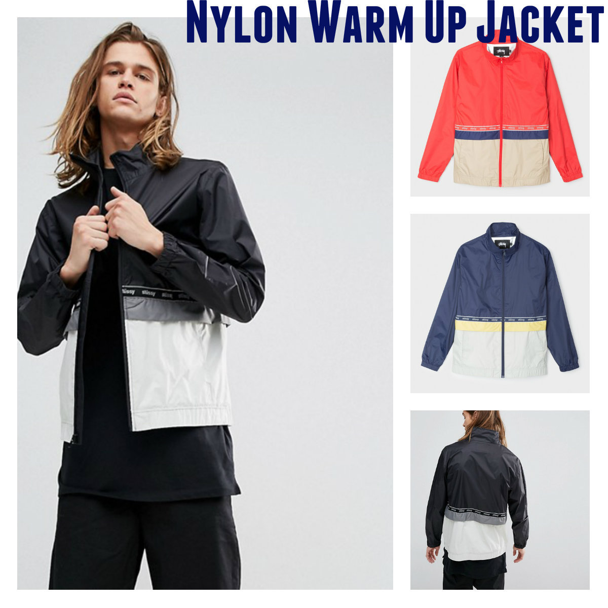☆完売必至☆Nylon Warm Up Jacket ☆☆