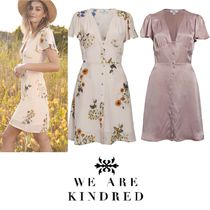 WE ARE KINDRED(ウィーアーキンドレッド) ワンピース 2017新作【WE ARE KINDRED】バックコンシャスシルクワンピース