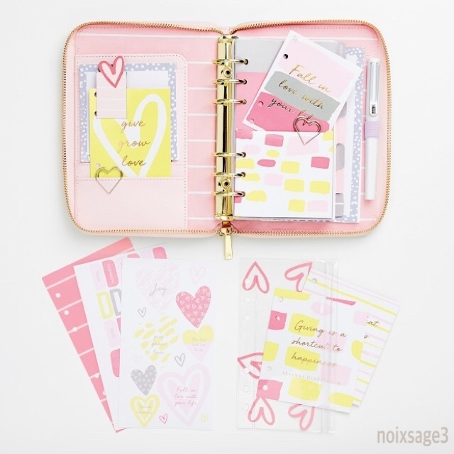 Kikki.K★手帳アレンジキット★PLANNER LOVERS KIT(M) LOVE LIFE
