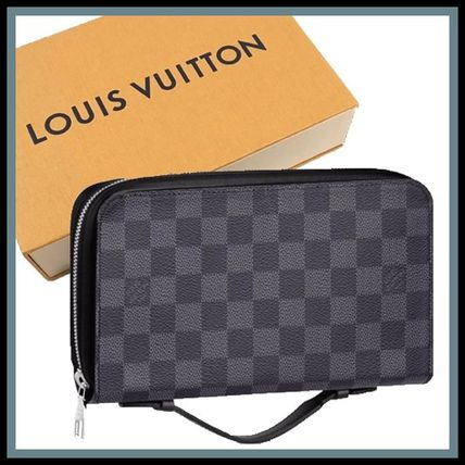 17AW LV★ジッピーXL〈ダミエ・グラフィット キャンバス〉