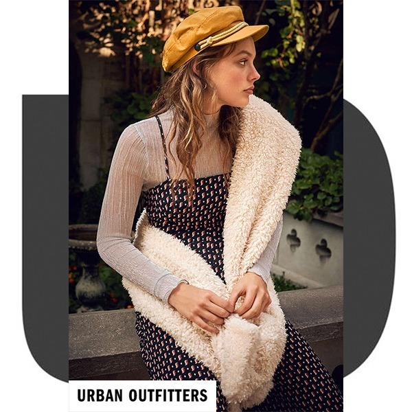 【URBAN OUTFITTERS】 テディスカーフ★Teddy Scarf★