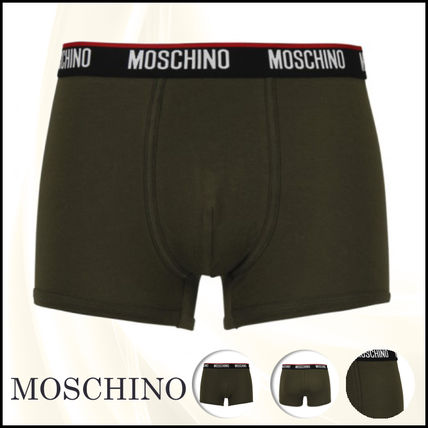★送料/関税無料★Moschino Underwear Logo Band Boxer Briefs
