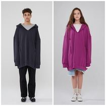 日本未入荷INDIGO CHILDRENのOVERSIZED V-NECK HOODIE 全4色
