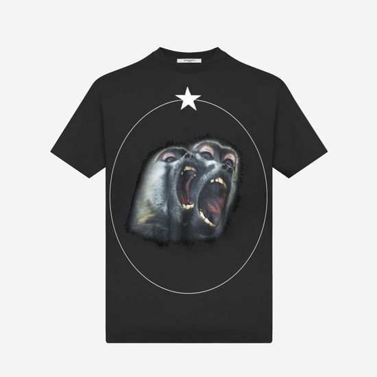 AW17-18三代目J Soul Brothers愛用☆GIVENCHY☆モンキーTシャツ