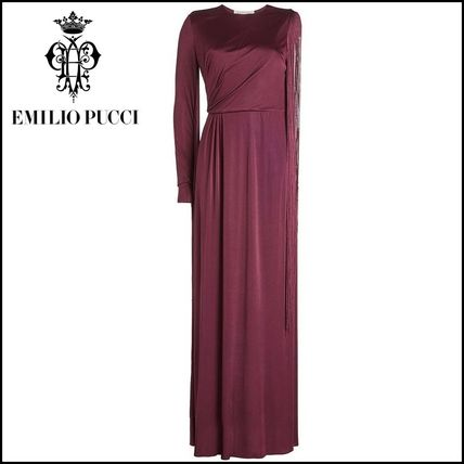 Emilio Pucci(エミリオプッチ)★Floor Length Gown One Sleeve