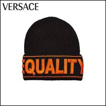 VERSACE(ヴェルサーチ)★Wool Hat with Embroidery