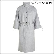 CARVEN(カルヴェン)★Wool Coat with Drawstring Ties