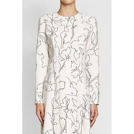 CARVEN ワンピース CARVEN(カルヴェン)★Pleated Dress with Print(2)