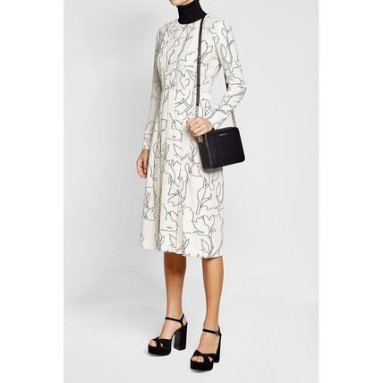 CARVEN ワンピース CARVEN(カルヴェン)★Pleated Dress with Print(3)