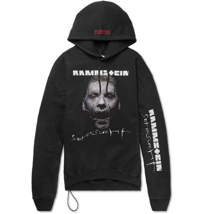 【VETEMENTS】17-18AW Rammsteinオーバー プリント パーカ