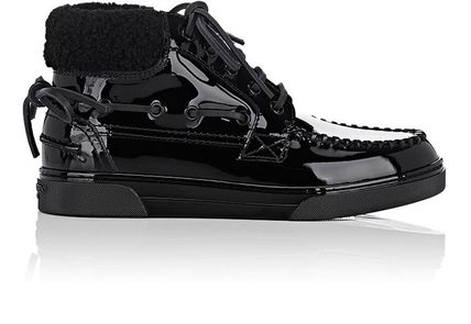 """関税/送料込""Saint Laurent Antibe Patent Leather スニーカー"