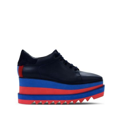 """関税/送料込""Stella McCartney Blue Sneak-Elyse スニーカー"
