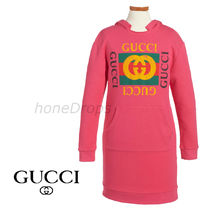 GUCCI★Logo Graphic Hoodie Dress★リトルキッズ&ビッグキッズ