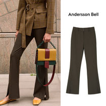 ANDERSSON BELL正規品★JAMIEサイドスリットトラウザーズ