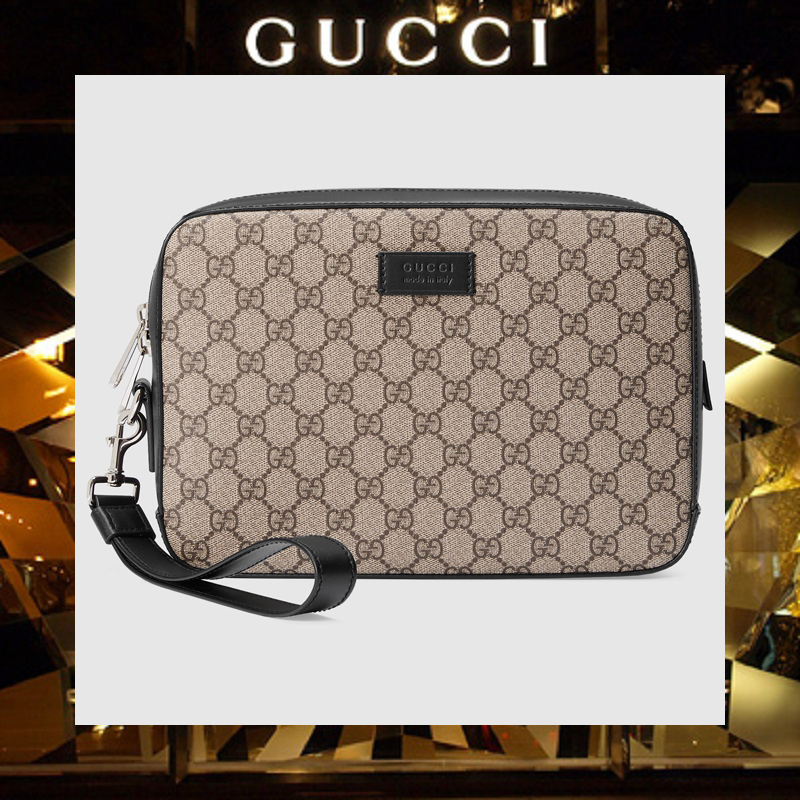 【17AW NEW】GUCCI_men/GG Supreme men's bag/メンズバッグ