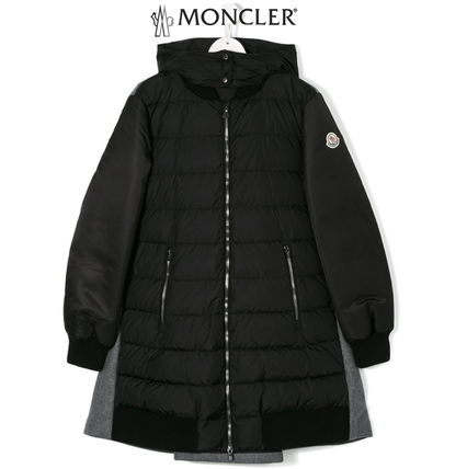 "MONCLER キッズアウター 秋冬★MONCLERJr""BLOIS""ウール&ダウンMixコート8/10A【関税込】"