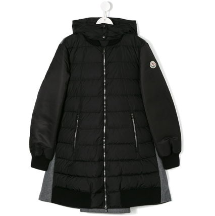 "MONCLER キッズアウター 秋冬★MONCLERJr""BLOIS""ウール&ダウンMixコート8/10A【関税込】(4)"