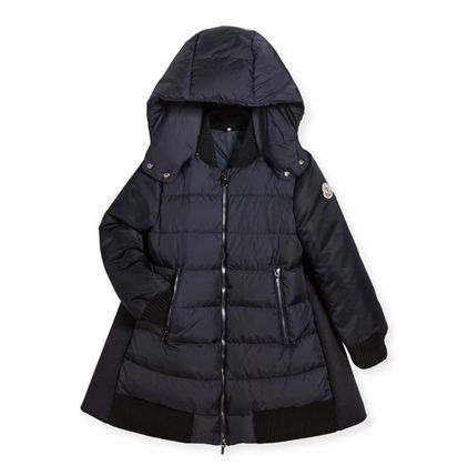 "MONCLER キッズアウター 秋冬★MONCLERJr""BLOIS""ウール&ダウンMixコート8/10A【関税込】(5)"