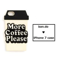 NEW ♥ ban.do iPhone7case 『More Coffee Please』