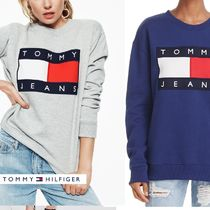 【Tommy Hilfiger】US限定★新作★トミーフラッグロゴスウェット