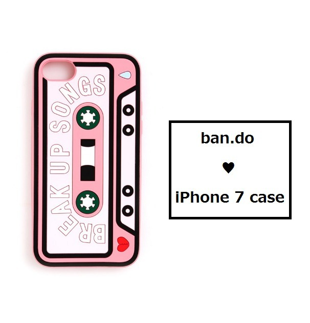 ban.do ♥  iPhone7case 『Break Up Songs』