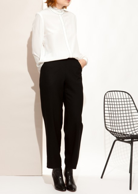 ☆国内発☆ VANESSA SEWARD/Black Eda pants