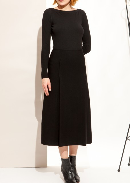 ☆国内発☆Azzedine Alaia/Black long skirt