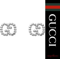 【国内発送】GUCCI イヤリング Sterling silver boule earrings