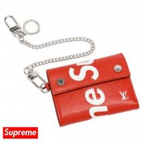 追跡有り!Supreme X LOUIS VUITTON CHAIN WALLET