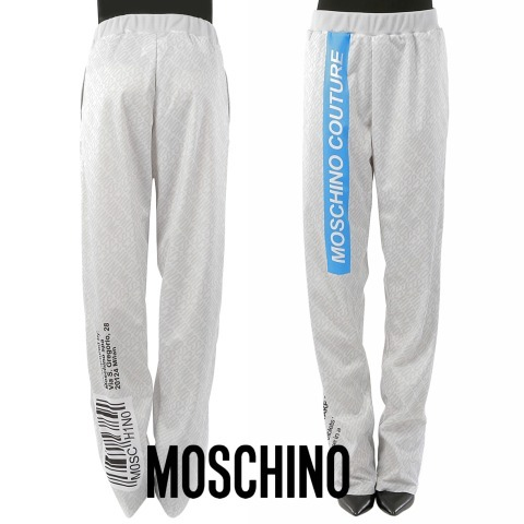 MOSCHINO PRINTTED PANTS
