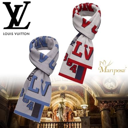 17AW【新作】ルイヴィトン☆LV LEAGUE SCARF☆マフラー