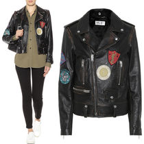 17-18AW WSL1094 VINTAGE EFFECT MOTORCYCLE JACKET WITH PATCH