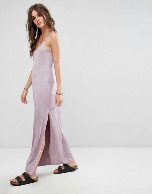 送料関税込 Free People Slinky Jersey Maxi Slip Dress ワンピ