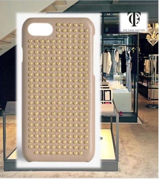 THE CASE FACTORY★IPHONE 7/8 BORCHIE NAPPA LIGHT TAUPE