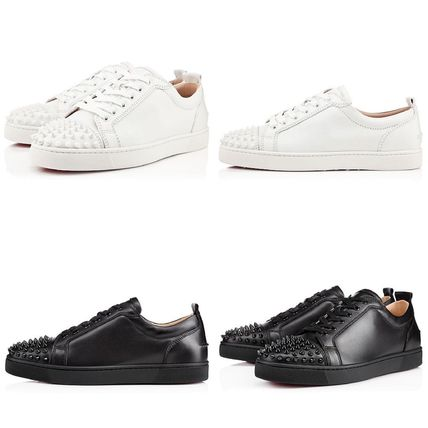 Christian Louboutin スニーカー 王道★ Louis Junior Spikes Flat ルイス スパイク