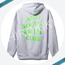 Anti Social Social Club Zip Up Hoodie ジップ ASSC Grey 灰緑